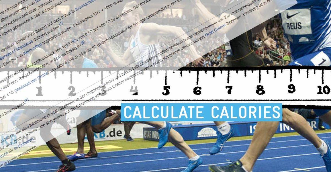 Kalorien Verbrauchsrechner Tätigkeiten
