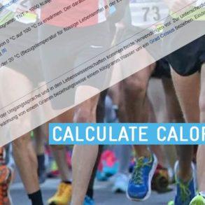 kalorienverbrauchrechner